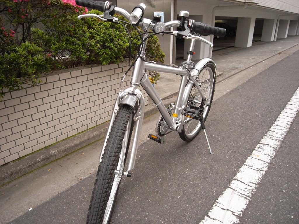 自転車の 無印良品 自転車 atb : 無印良品 アルミATBが来た ...